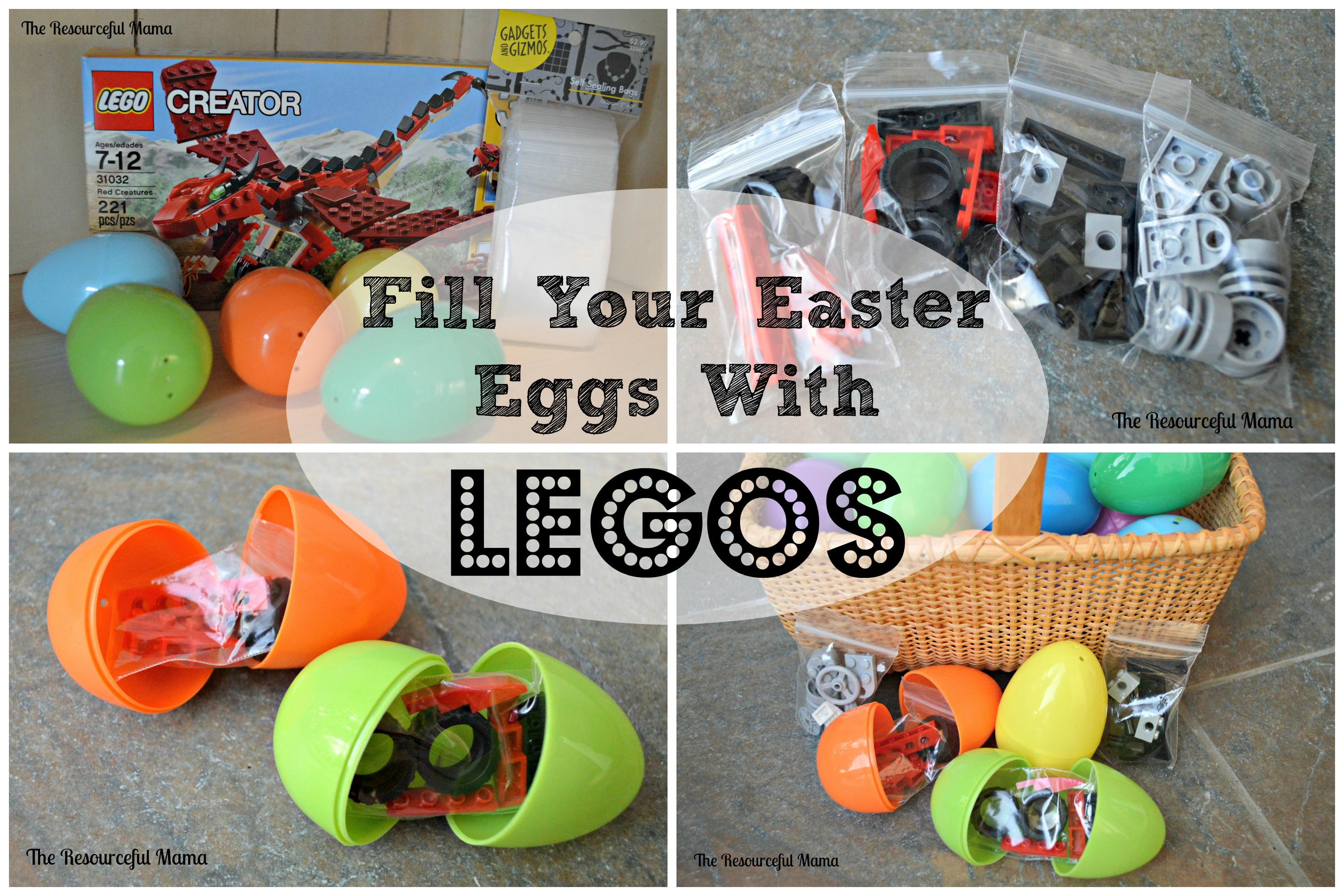 Fill Your Easter Eggs With Legos The Resourceful Mama