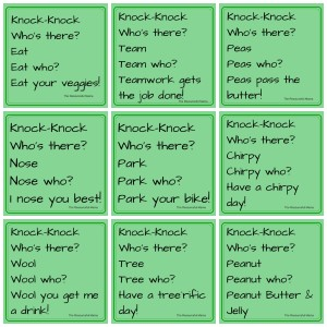 April Fool's Day Knock-Knock Jokes for Kids