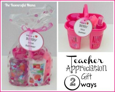 Teacher Appreciation~Have a Berry Nice Summer!