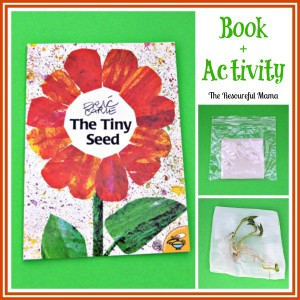 Sprouting Seed Activity for Kids Inspired by The Tiny Seed