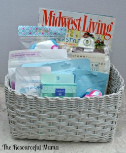 Spa Basket for Mother's Day