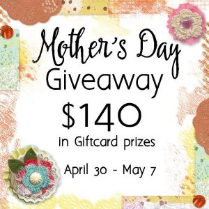 mother's day giveaway $140 in gift cards