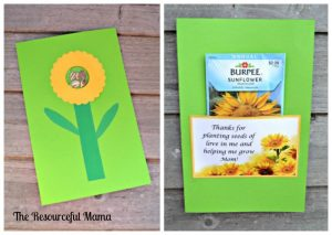 Mother's day card the kids can help with~planting seeds of love.