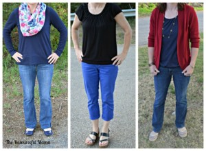 what i wore as SAHM 4-22-15