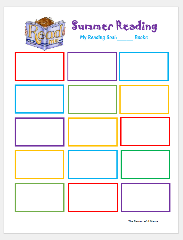 Make summer reading fun with this reading bingo the for Summer reading log template