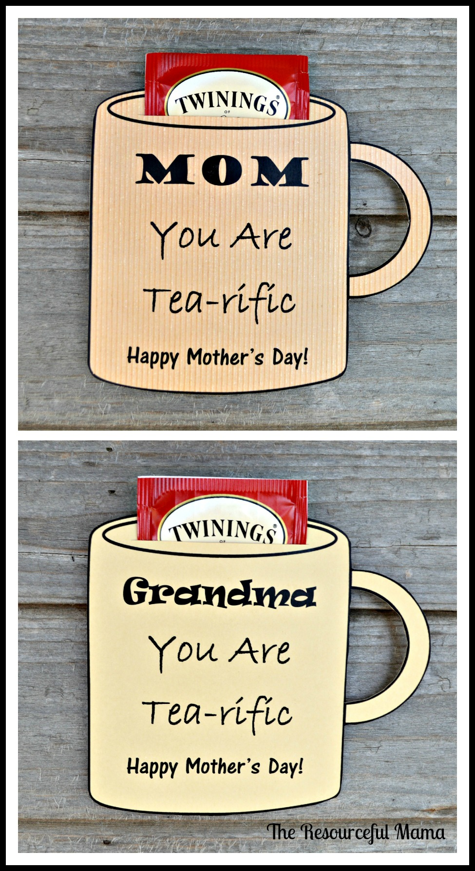 Mother 39 s day card free printable the resourceful mama for What to get grandma for mother s day