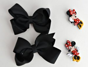 bows and minnie buttons