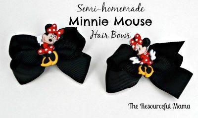 Semi-homemade Hair Bows