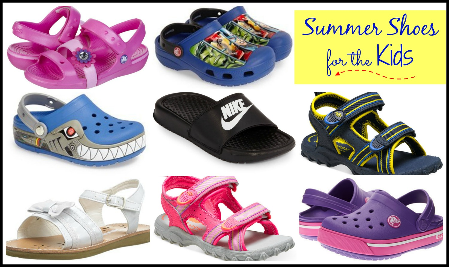 Summer Shoes for the Kids - The Resourceful Mama