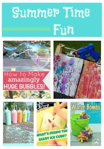 Summer Time Fun Activities for Kids