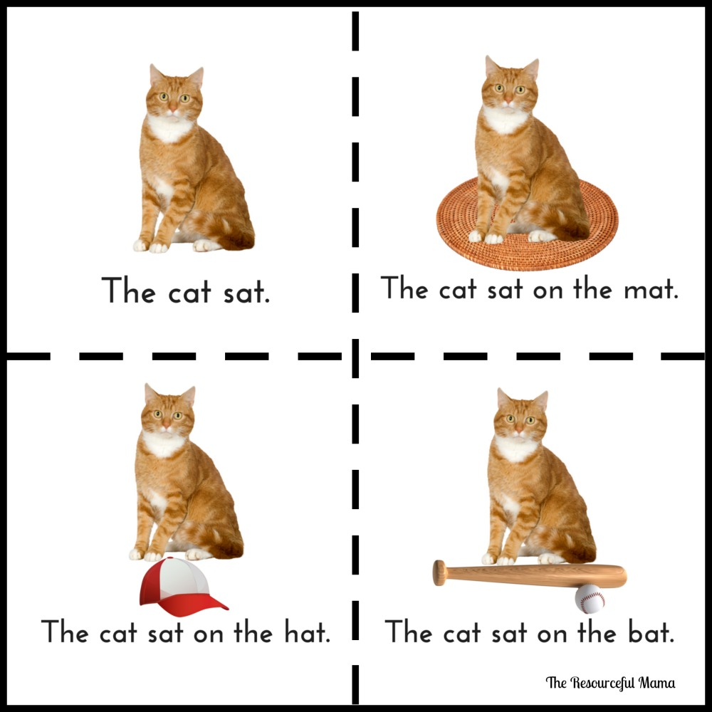 The Cat Sat Rhyming Book The Resourceful Mama