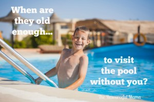 When are your kids old enough to visit the pool by themselves? Ask your self these questions first...