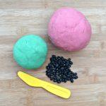 watermelon playdough