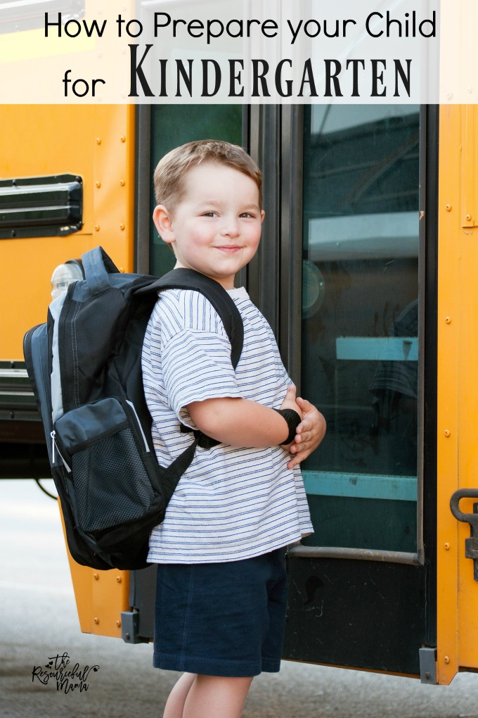 Transitioning to kindergarten is a big deal for many kids. Starting at a new school, with a new teacher, new friends, new schedule is a big deal for little ones. Here's some things you can do now to help prepare your preschooler for kindergarten.