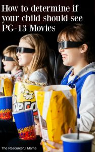 When is your child old enough to see a PG-13 movie? These questions will help you answer that question.