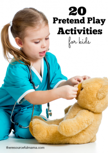 20 favorite pretend play activities for kids