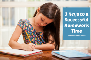 3 keys to a successful homework time