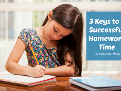 The Keys to a Successful Homework Time