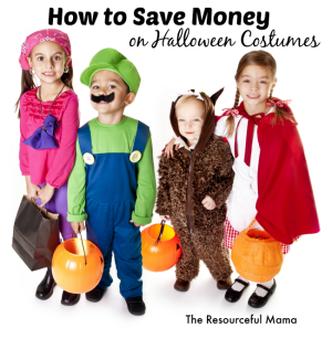 How to Save Money on Halloween Costumes for Kids