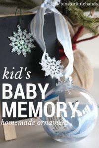 Baby Memory Ornament