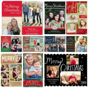Order Christmas cards now. Don't want until you get super busy with the holidays. Order now and receive really good deals. These are a few of my favorite photo Christmas cards.