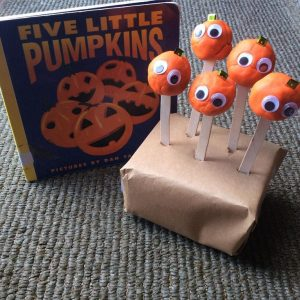 Five Little Pumpkins is one of our favorite Halloween books. Here is a fun activity to go with the book.