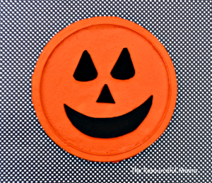 Puffy paint pumpkin jack a lantern perfect for Halloween