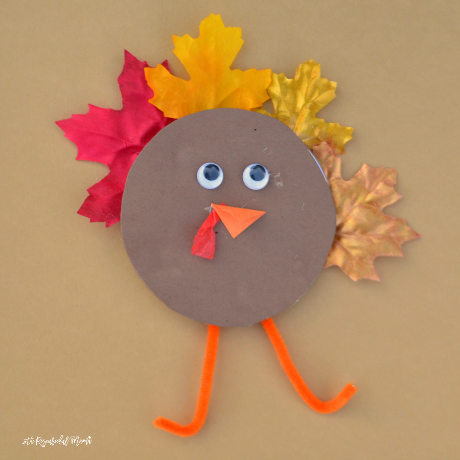 preschool thanksgiving recycled cd turkey kid craft the resourceful 981
