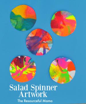 Salad Spinner Artwork