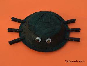 Streamers Spider Kid Craft