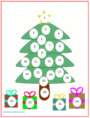 Do a Dot Christmas Countdown Advent Calendar