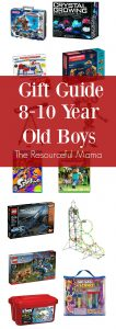 Gift guide for 8-10 year old tween boys for Christmas