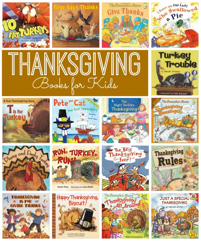 Thanksgiving Books for Kids The Resourceful Mama
