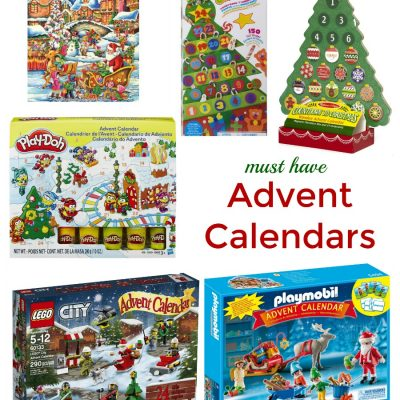 Must Have Christmas Countdown Advent Calendars