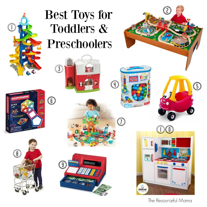 Toys For Preschoolers : Best toys for toddlers and preschoolers the resourceful mama