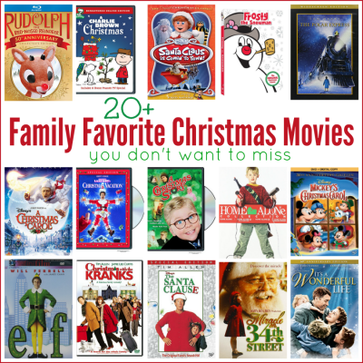 Classic Family Favorite Christmas Movies