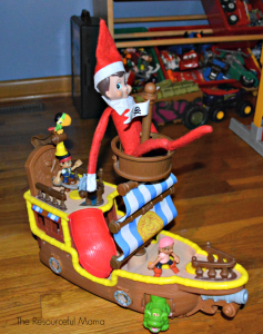 The Elf on the Shelf on Jack and the Neverland Pirates.