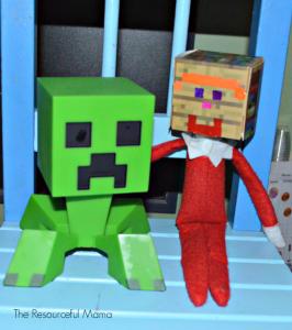 The Elf on the Shelf on Minecraft
