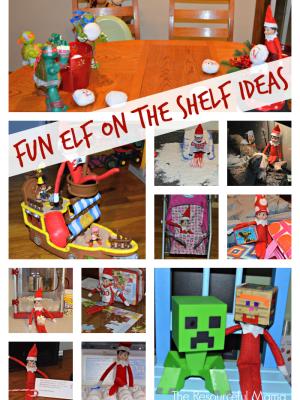 Fun Elf on the Shelf Ideas