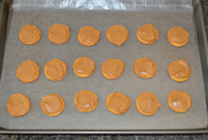 Christmas Peanut Butter Patties