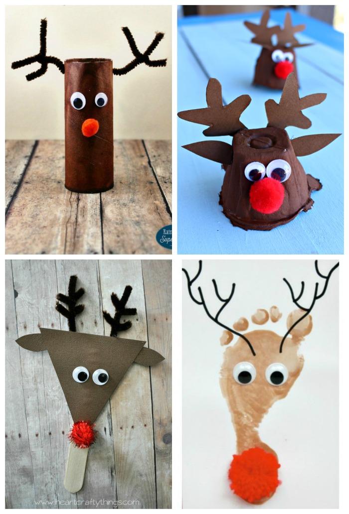 Top Ten Reindeer Kid Crafts The Resourceful Mama