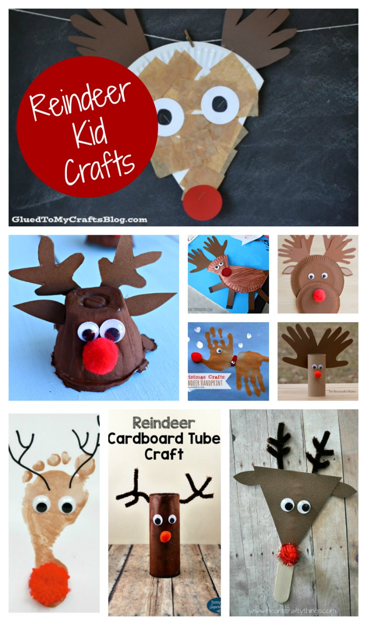 Top Ten Reindeer Kid Crafts The Resourceful Mama