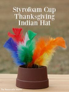 Thanksgiving Indian Hat Kid Craft