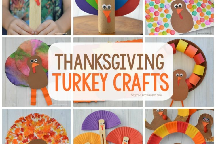 15+ Thanksgiving Turkey Kid Crafts