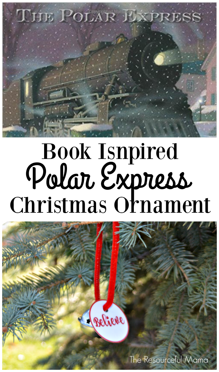 Polar Express Ornament The Resourceful Mama