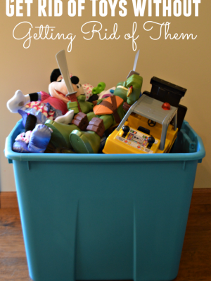 Get Rid of Toys Without Getting Rid of Them