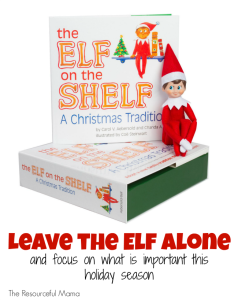 Embrace the differences that the Elf on the Shelf brings and enjoy what matters most to you t his holiday season.