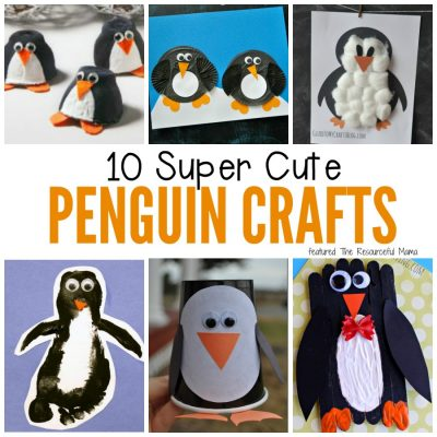 Top Ten Penguin Crafts for Kids
