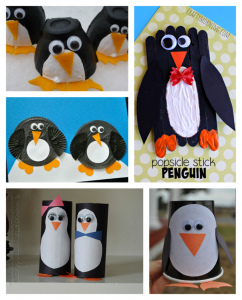 Penguin Kid Crafts