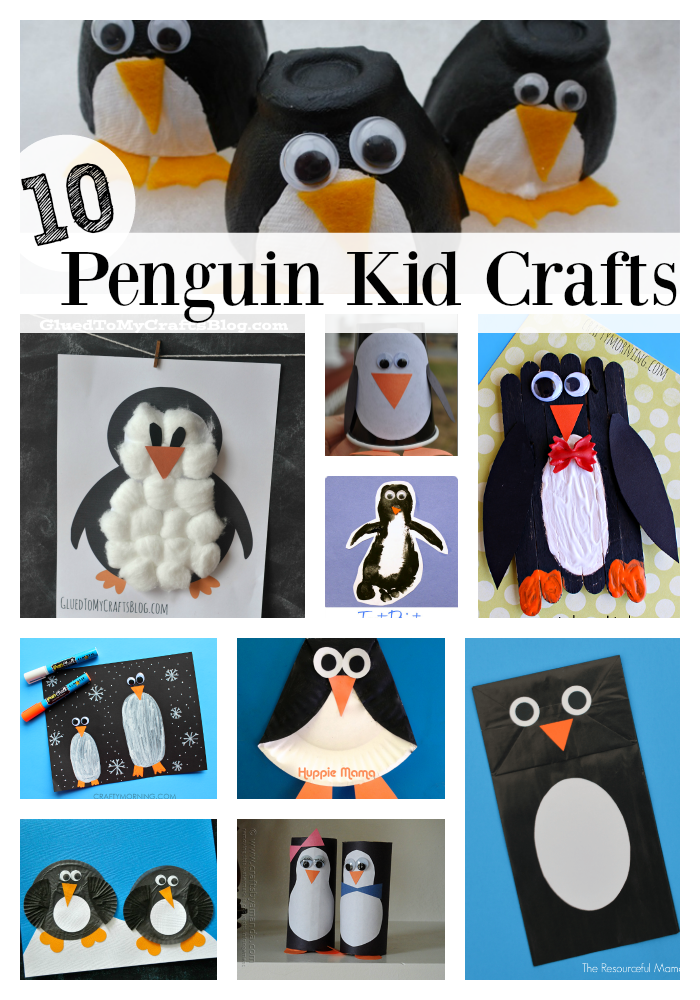 Kids Will Love Making These Penguin Crafts Make From Paper Rolls Craft Sticks Cupcake